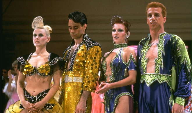 baz luhrmann analysis red curtain trilogy Baz luhrmann's 1992 film strictly ballroom– part dance comedy, part   collectively becoming known as the director's 'red curtain trilogy.