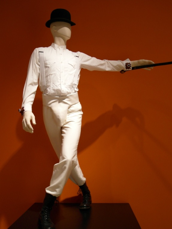 "Ah, how iconic this costume from ""A Clockwork Orange"" became..."