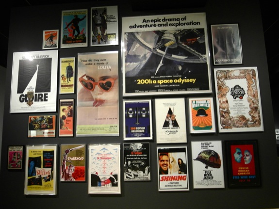 Posters of Kubrick's works - what a life.