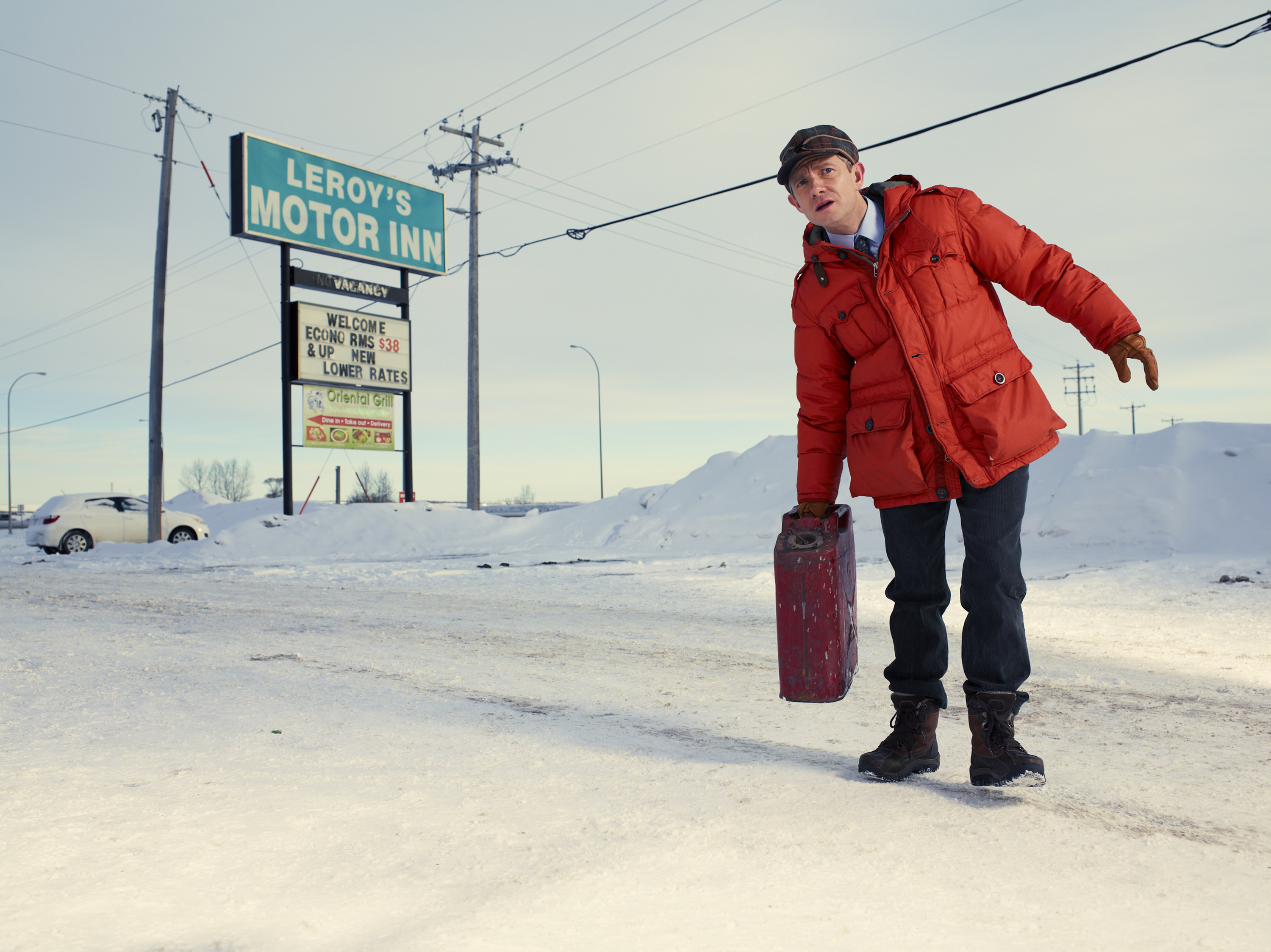 Martin Freeman in Fargo by Matthias Clamer