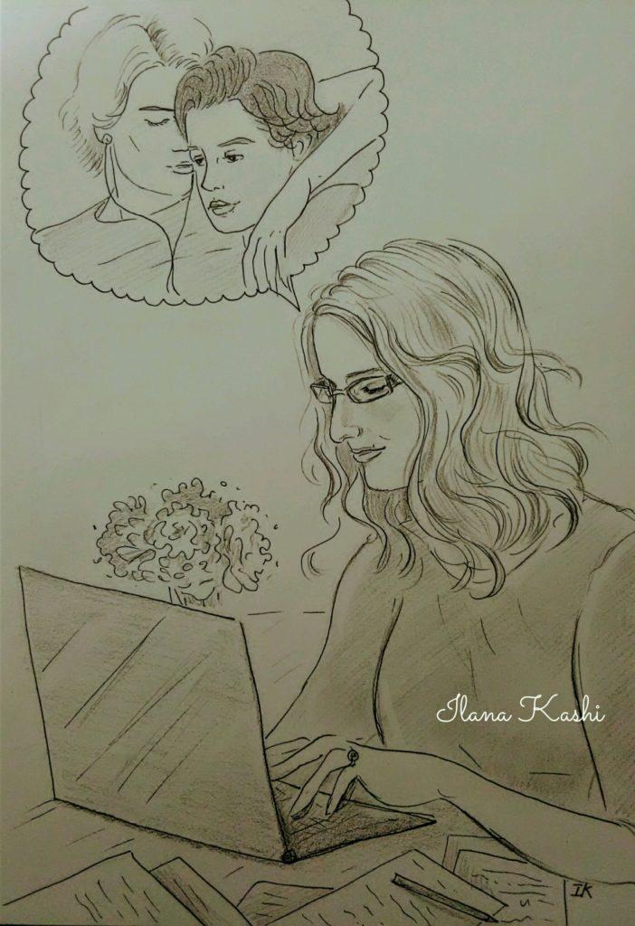 Jennifer Coté in #EYEWITNESS fan art by Ilana Kashi